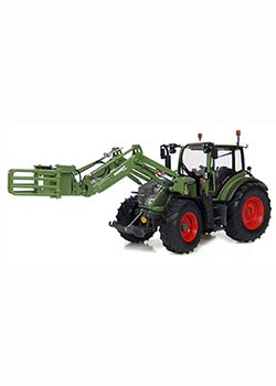 1:32 Fendt 516 Vario with Front Bale Grab Thumbnail
