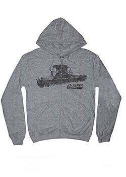 Gleaner Zipper Hooded T-Shirt Thumbnail