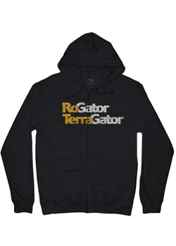 RoGator/TerraGator Zipper Hooded T-Shirt Thumbnail
