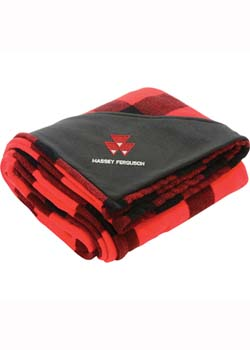 Massey Ferguson Ultra Plush Oversized Blanket Thumbnail