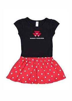 Massey Ferguson Toddler Dress Thumbnail