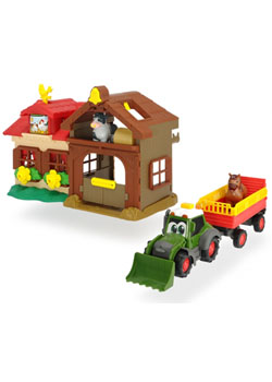 Fendt Happy Farm House with Tractor, Trailer, & Sounds Thumbnail