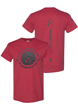 Massey Ferguson World of Experience T-Shirt Thumbnail