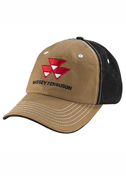 Massey Ferguson Canvas Mesh Hat Thumbnail